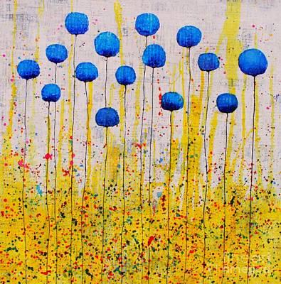 Mixed Media - Happy Memories by Natalie Briney