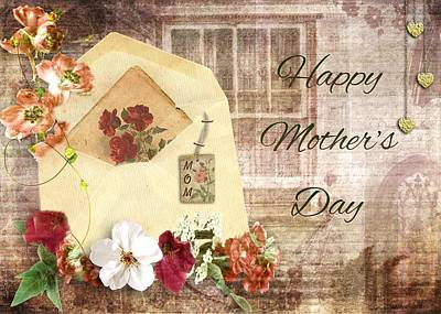 Mixed Media - Happy Mother's Day by Paula Ayers