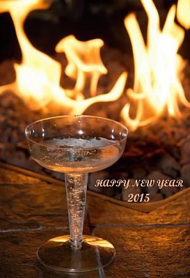 Photograph - Happy New Year 2015 by John Black