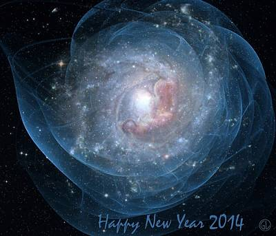 Baby New Year Digital Art - Happy New Year by Gun Legler