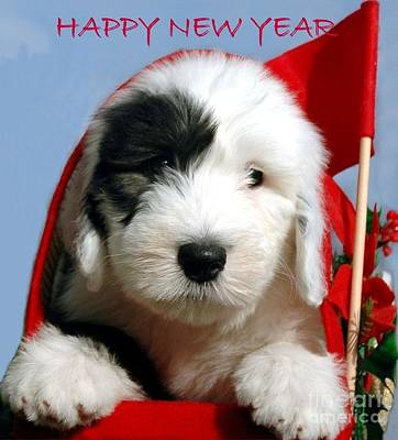 Happy New Year Art Print by Kathleen Struckle