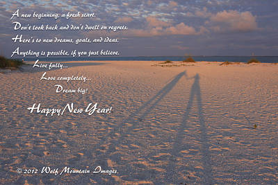Photograph - Happy New Year by Shari Jardina