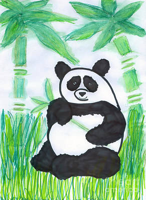 Photograph - Happy Panda O.o. by Ausra Huntington nee Paulauskaite
