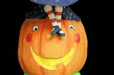 Photograph - Happy Pumpkin by Aimee L Maher ALM GALLERY