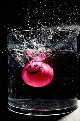 Photograph - Happy Splash by David Andersen