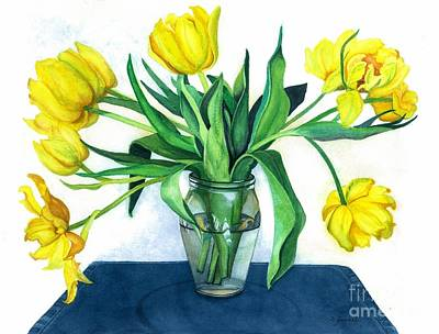 Painting - Happy Spring by Barbara Jewell