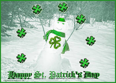Photograph - Happy St Patricks Day by LeeAnn McLaneGoetz McLaneGoetzStudioLLCcom