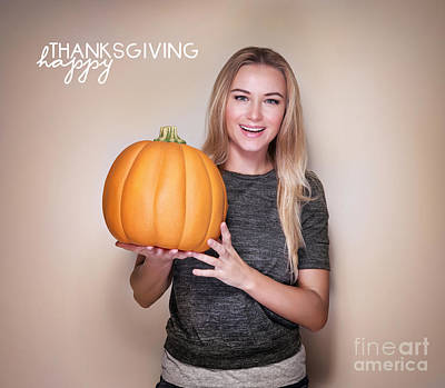 Photograph - Happy Thanksgiving Day by Anna Om