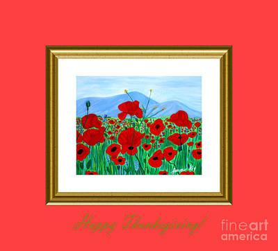 Digital Art - Happy Thanksgiving. Soul Collection by Oksana Semenchenko