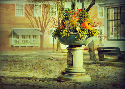 Photograph - Happy Thanksgiving Welcome Fall by Marianne Campolongo