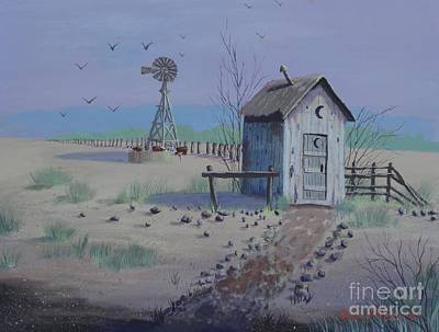 Painting - Happy Trails by Bob Williams