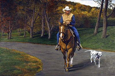 Painting - Happy Trails by Rick Fitzsimons