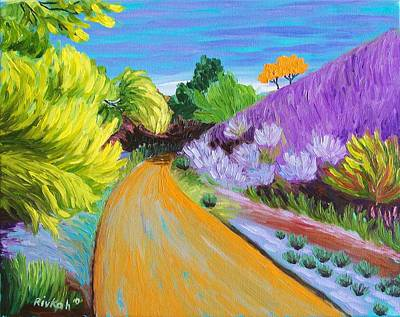 Painting - Happy Trails by Rivkah Singh