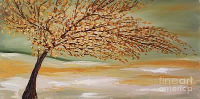 Painting - Happy Tree by Preethi Mathialagan