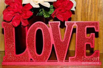 Secret Admirer Photograph - Happy Valentine's Day - Love - Forever5 by Barbara Griffin