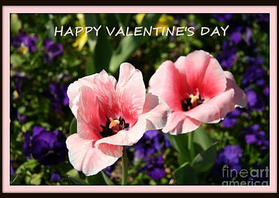 Painting - Happy Valentine's Day Card by Shelia Kempf