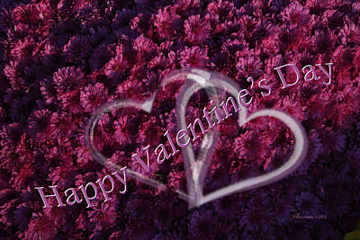 Photograph - Happy Valentine's Day - Featured In Comfortable Art Group by Ericamaxine Price