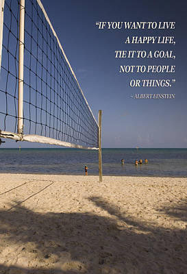 Photograph - Happy Volleyball Goal by Bob Pardue