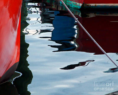Photograph - Harbor Abstract by Kristen Fox