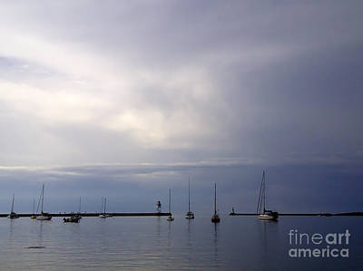 Photograph - Harbor At Grand Marais by A K Dayton