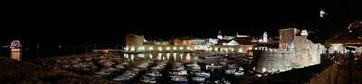 Photograph - Harbor At Night by Weston Westmoreland