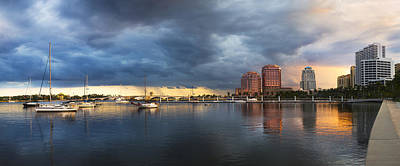 Photograph - Harbor At West Palm Beach by Debra and Dave Vanderlaan