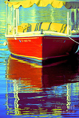 Photograph - Harbor Boatin by Joanne Coyle