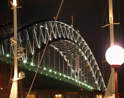 Photograph - Harbor Bridge by Ellen Henneke