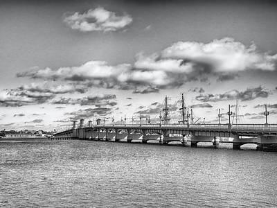 Photograph - The Harbor Bridge by Howard Salmon