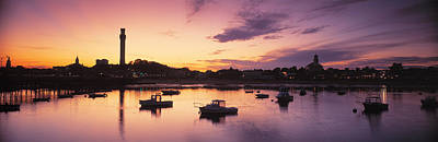 New England Village Photograph - Harbor Cape Cod Ma by Panoramic Images