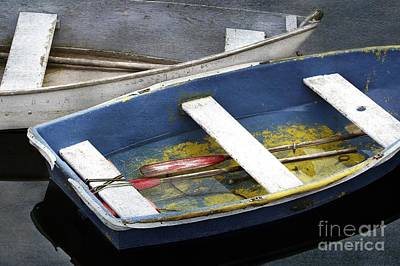 Photograph - Harbor Dinghies by Karin Pinkham