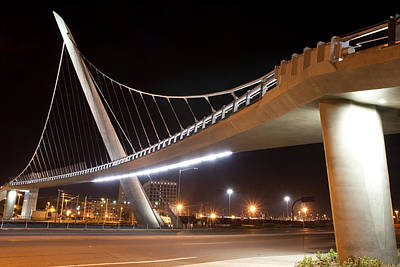 Photograph - Harbor Drive Pedestrian Bridge by Nathan Rupert