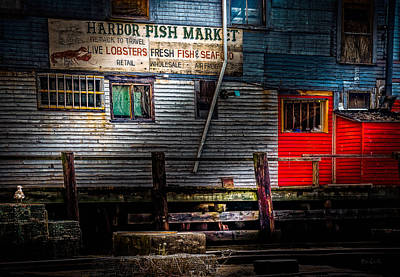 Photograph - Harbor Fish Market by Bob Orsillo