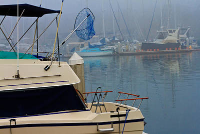 Photograph - Harbor Fog by Ben Graham