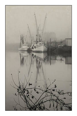 Photograph - Harbor Fog No.4 by Alan Sherlock