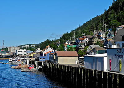 Photograph - Harbor In Ketchikan Ak by Kirsten Giving