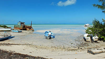 Photograph - Harbour Island Beach With Boats by Duane McCullough