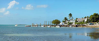 Photograph - Harbour Island Docks And Shoreline 3 by Duane McCullough