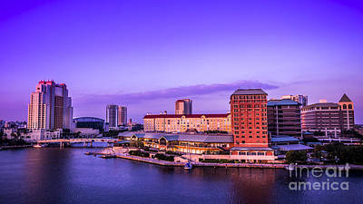 Tampa Skyline Photograph - Harbor Island by Marvin Spates