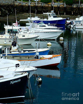 Photograph - Harbor Lineup by Kristen Fox