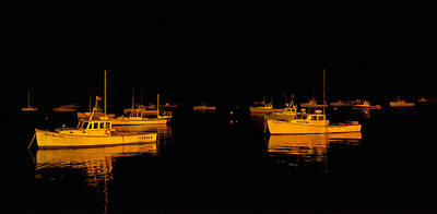 Photograph - Harbor Nights by Paul Mangold
