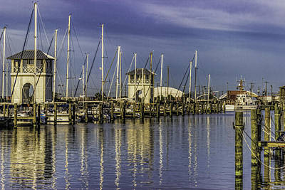 Kitchen Spices And Herbs - Harbor Reflections by Brian Wright
