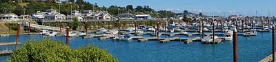 Photograph - Harbor Scene At Brookings by Mick Anderson