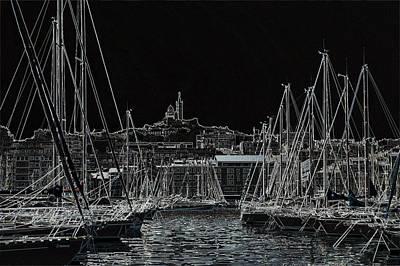 Photograph - Harbor by Steven Liveoak