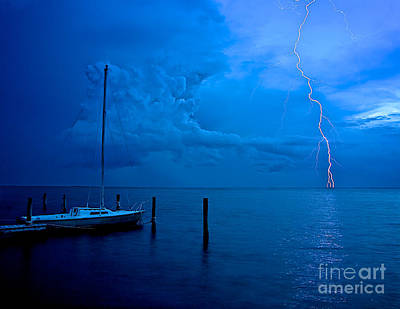 Harbor Storm Art Print by Mark Miller