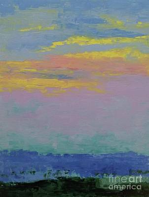 Painting - Harbor Sunset by Gail Kent