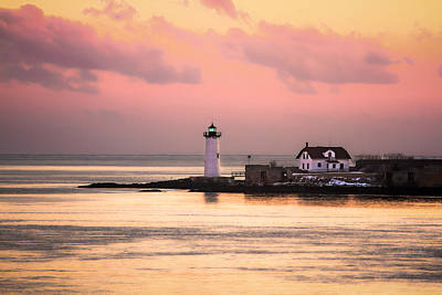 Photograph - Harbor Sunset by Robert Clifford