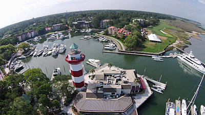 Photograph - Harbor Town 1 In Hilton Head by Duane McCullough