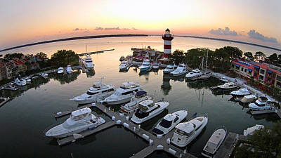 Photograph - Harbor Town 5 In Hilton Head by Duane McCullough