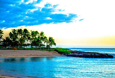 Photograph - Harbor View Ko Olina  by Lisa Cortez